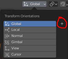 Create orientation